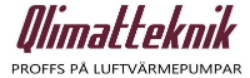 Qlimatteknik Uppland Logotyp